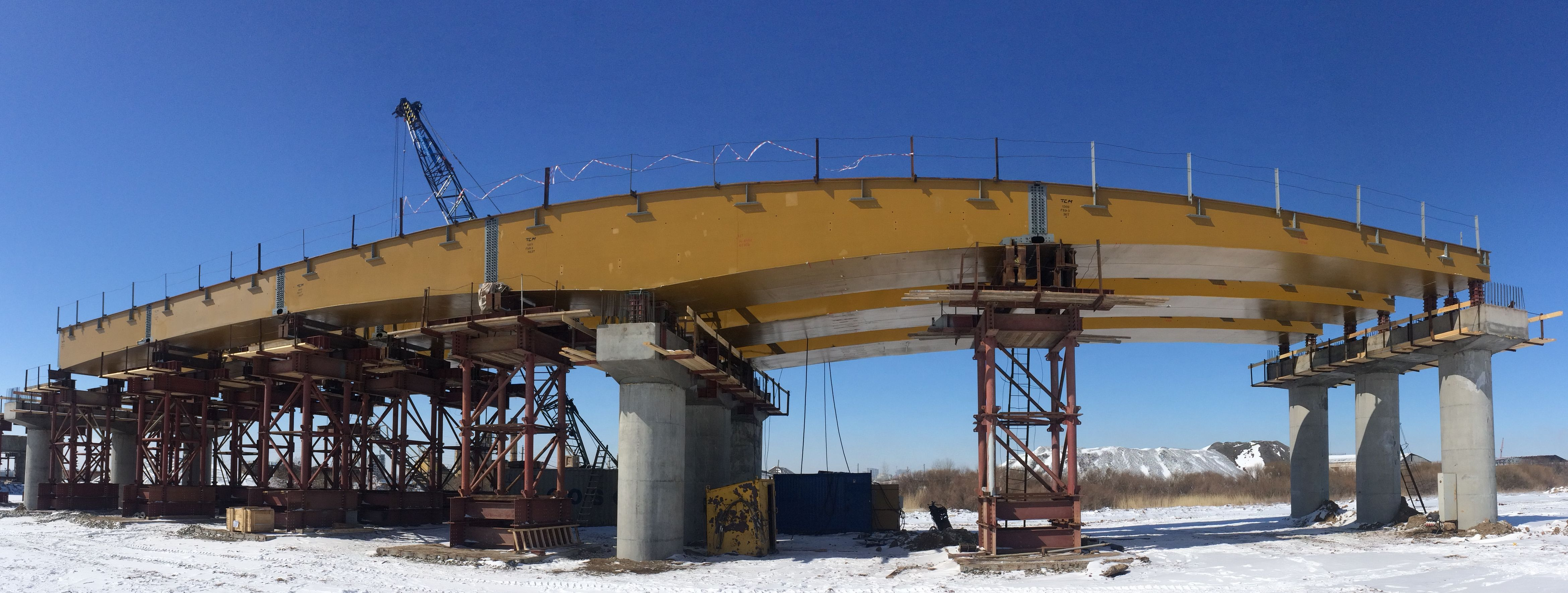 Специальные вспомогательные сооружения и устройства моста