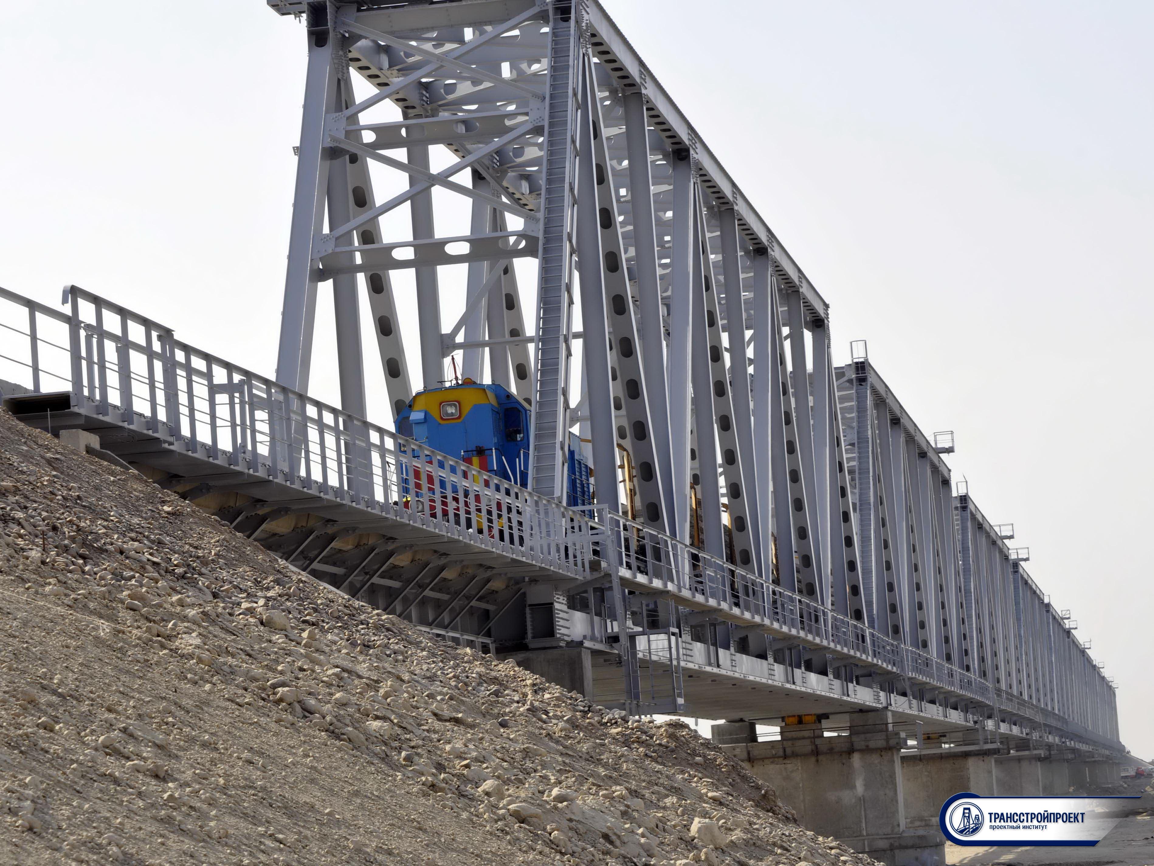 железнодорожный мост через реку Или на ПК 2235+53 РК