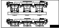 Поперечное сечение пролетных строений железнодорожной эстакады в Астане
