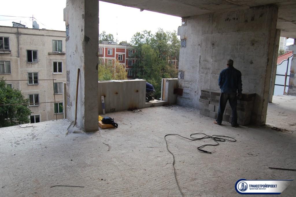 Испытание балкона