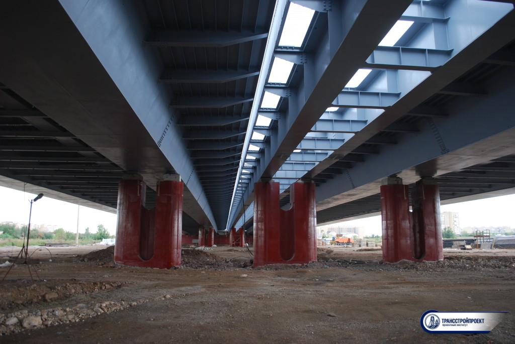 01 Два металлических моста через Ишим