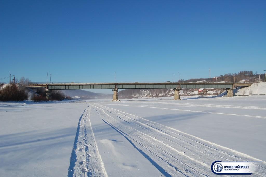обследование моста Тында. Якутия