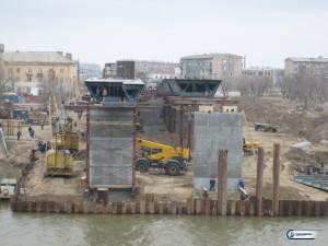 011_Строительство мостового перехода через реку Урал в Атырау. Район Балыкши