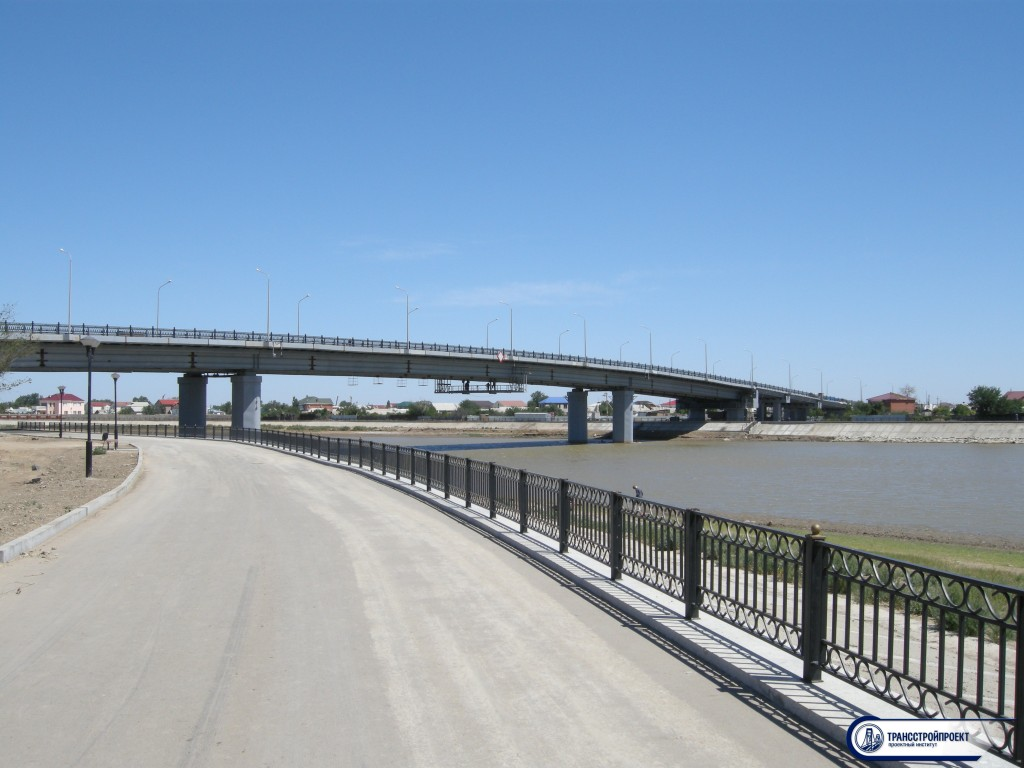 Мост через Урал Алиева-Сатыбалдиева