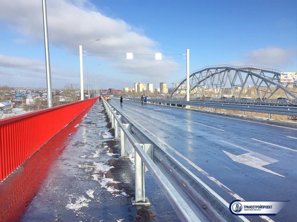 01_Мост в створе ул. Челюскинцев. Тюмень