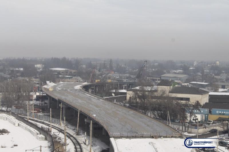 01_Общий вид Мост через ж_д пути по улице Суюнбая в г. Алматы