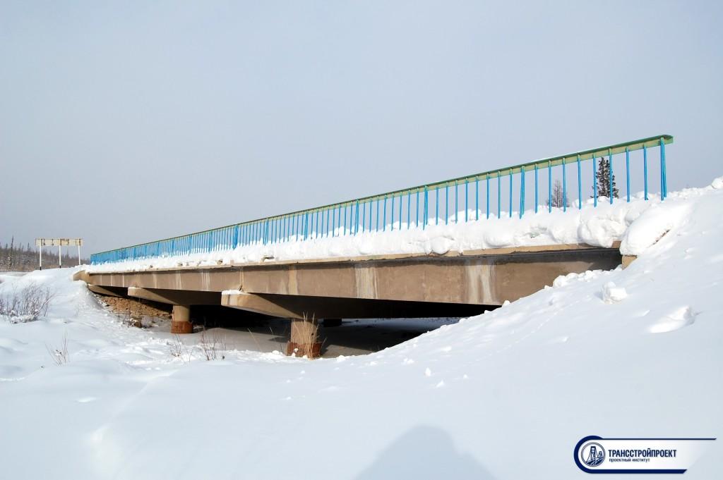 Обследование моста Курун-Кюн_Кю в Якутии