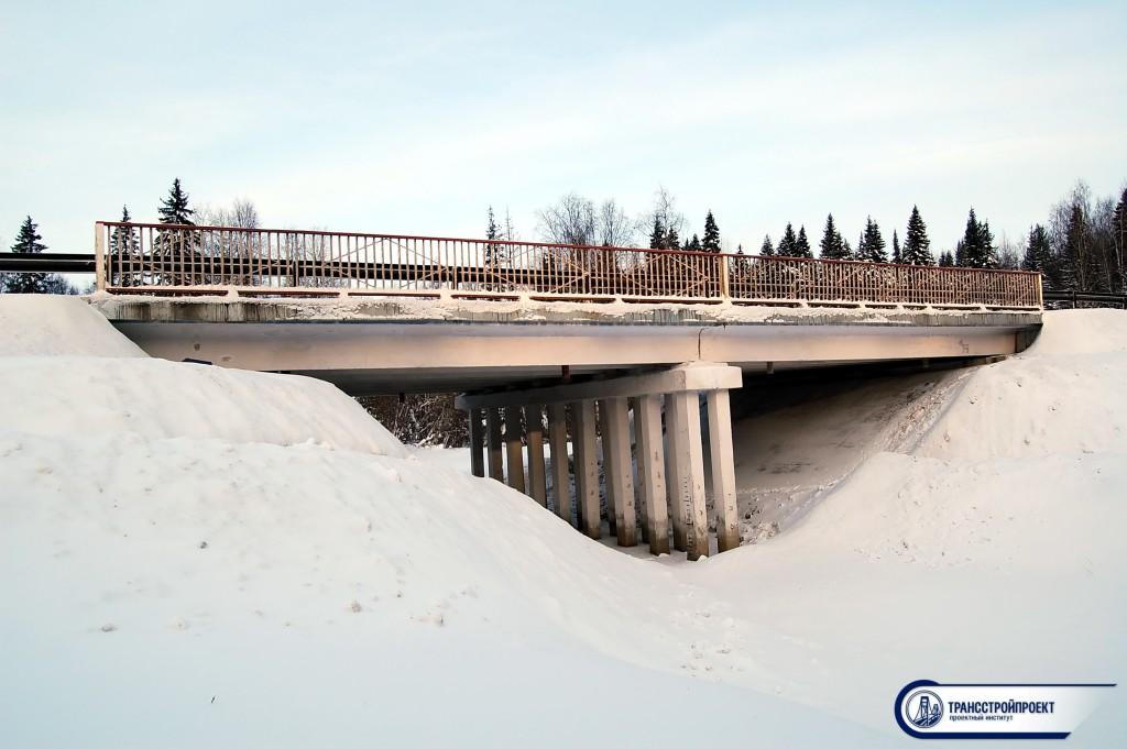 Обследование моста Тыла-Ю