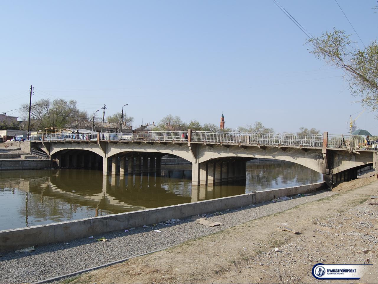 Ямгурчевский мост в Астрахни