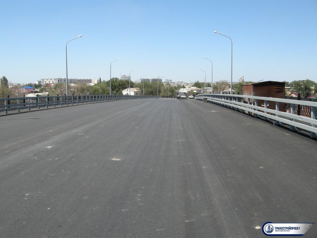 приемочные обследования моста через Урал