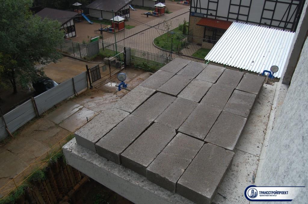 оценка возможности эксплуатации балконной плиты
