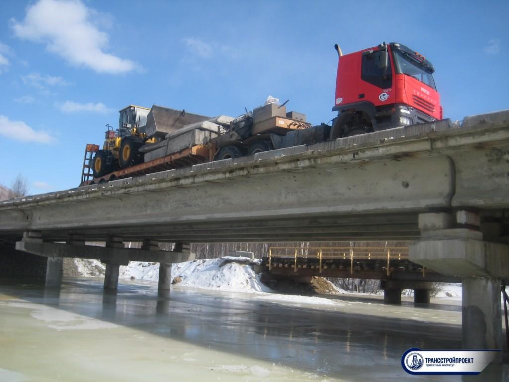 Испытание мостового сооружения с выдачей Технического отчета