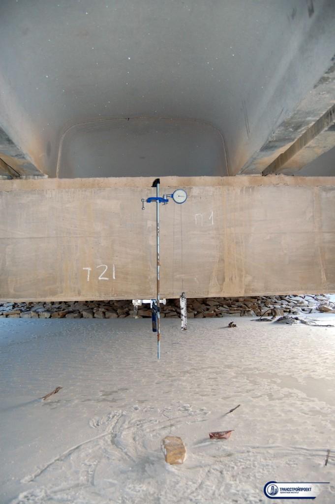 Испытание опор моста с выдачей Технического отчета