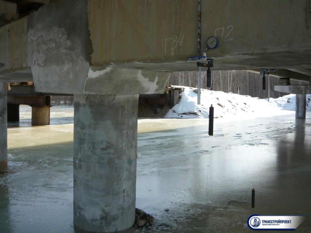 обследование моста в Амурской обл
