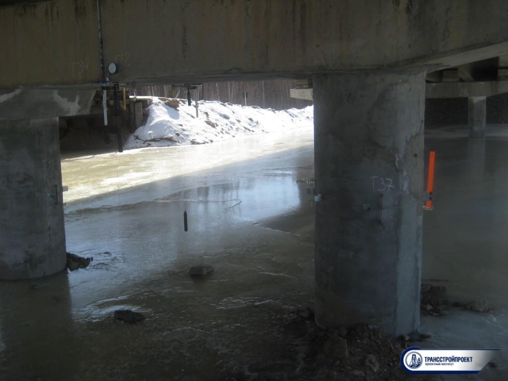 обследование мостового сооружения