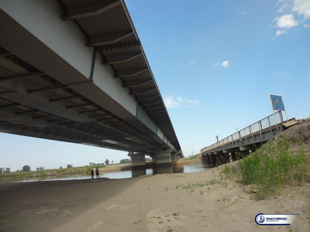 Мост через старый Иртыш