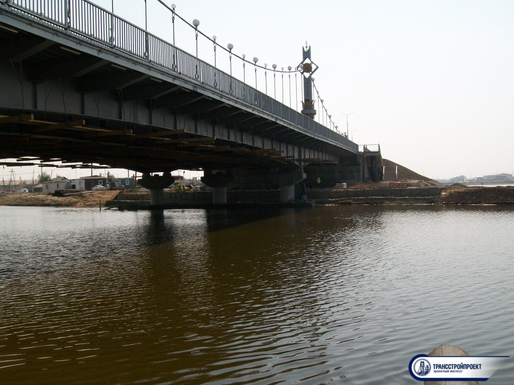 Мостовой переход в Якутске