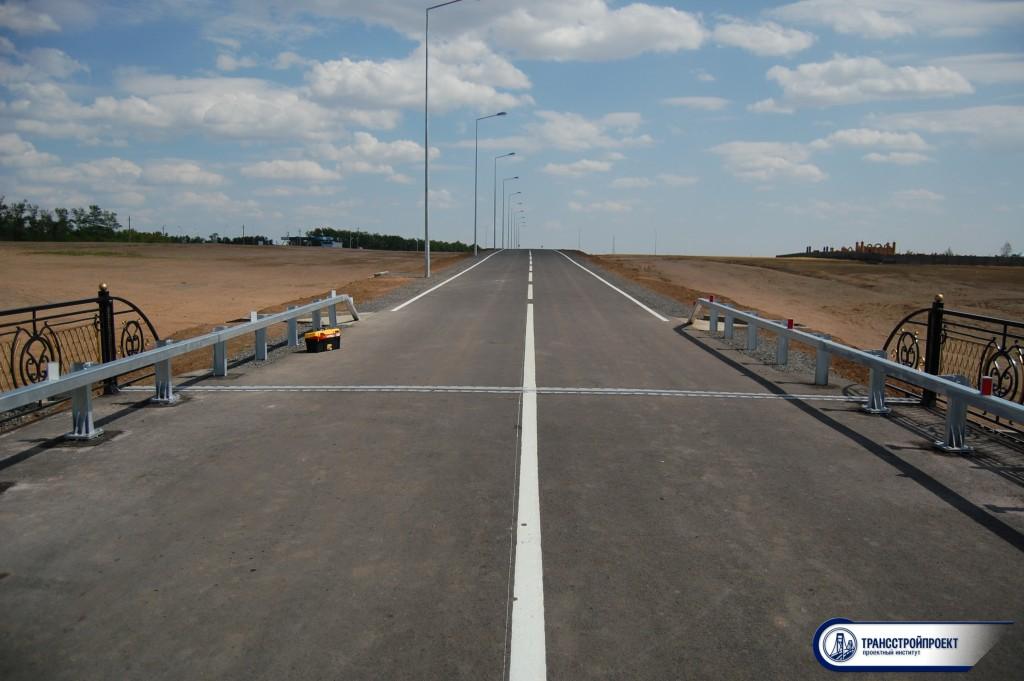 Обследование автодорожного моста через р. Есиль