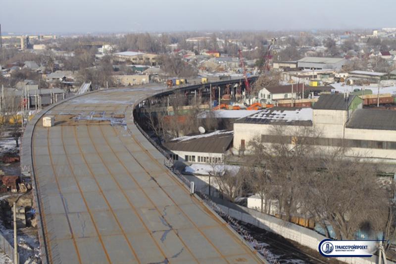 Подготовка пролетного строения под гидроизоляцию. Суюнбая. Алматы