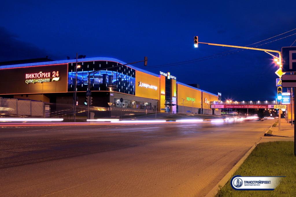 Подсветка Пешеходного перехода Домодедово