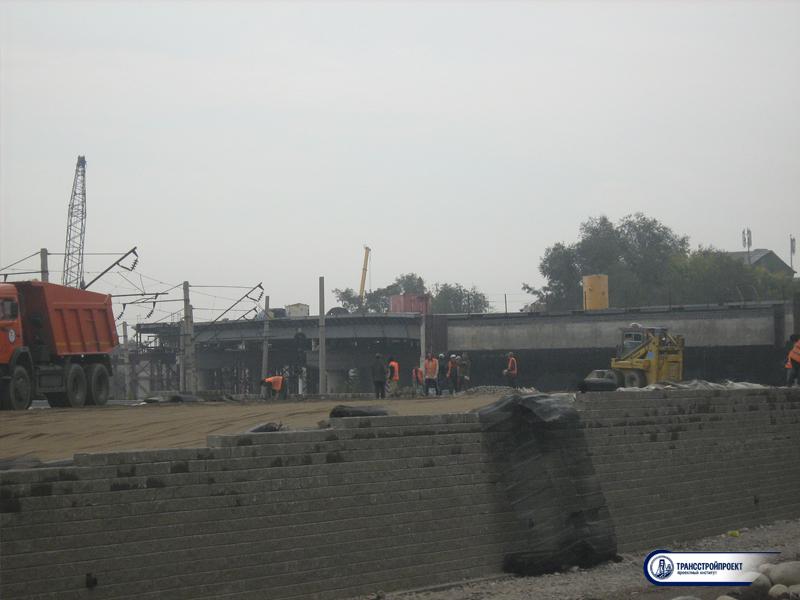 Разработка ППР для строительства пролетного строения путепровода через ж_д пути по Суюнбая. Алматы