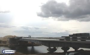 Мост через озеро Сайсары Якутск 3