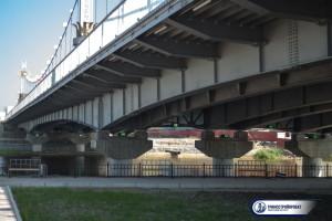 Мост через озеро Сайсары Якутск 5