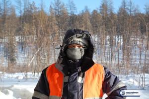Якутия. Обследование мостов