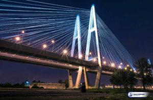 Вантовый мост в Санкт-Петербурге